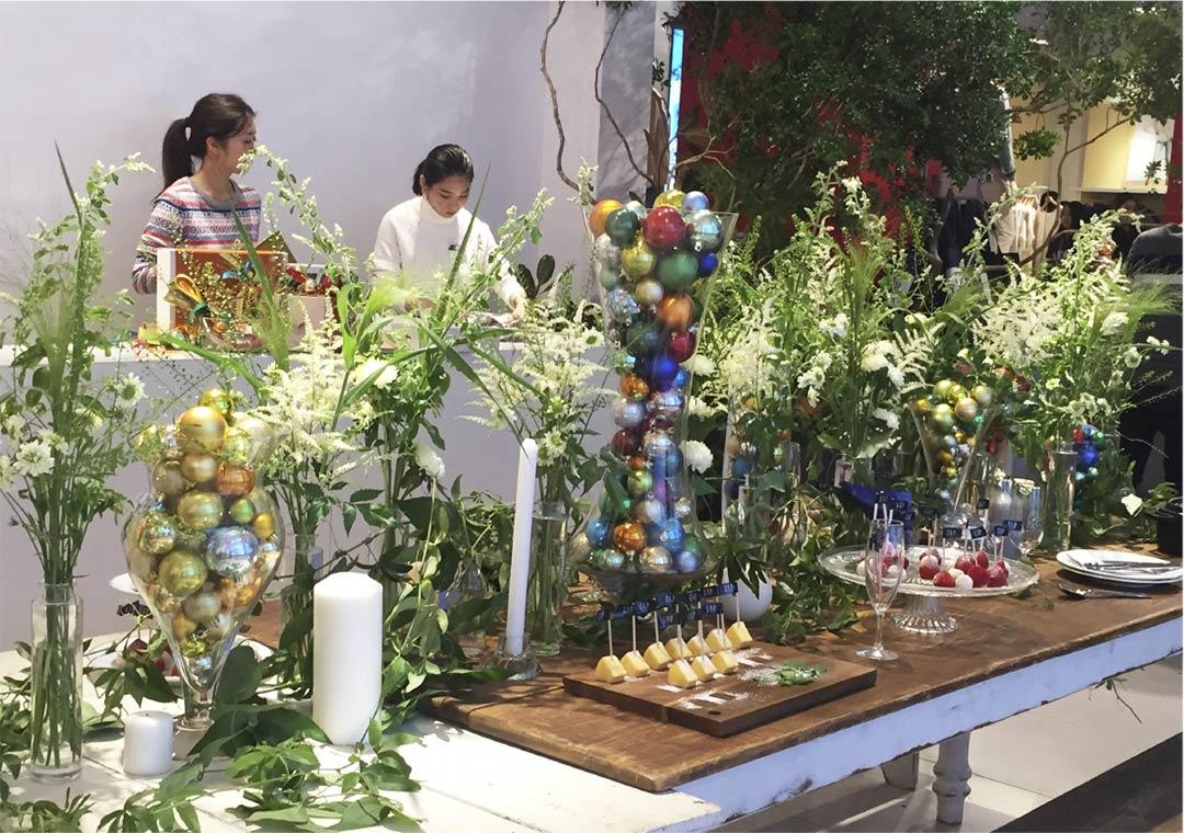 GAP「Happy Holiday Party」Display at GAP原宿