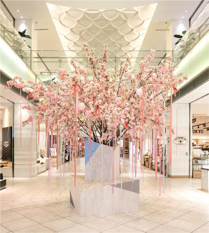 Sakura Display at PARCO urawa