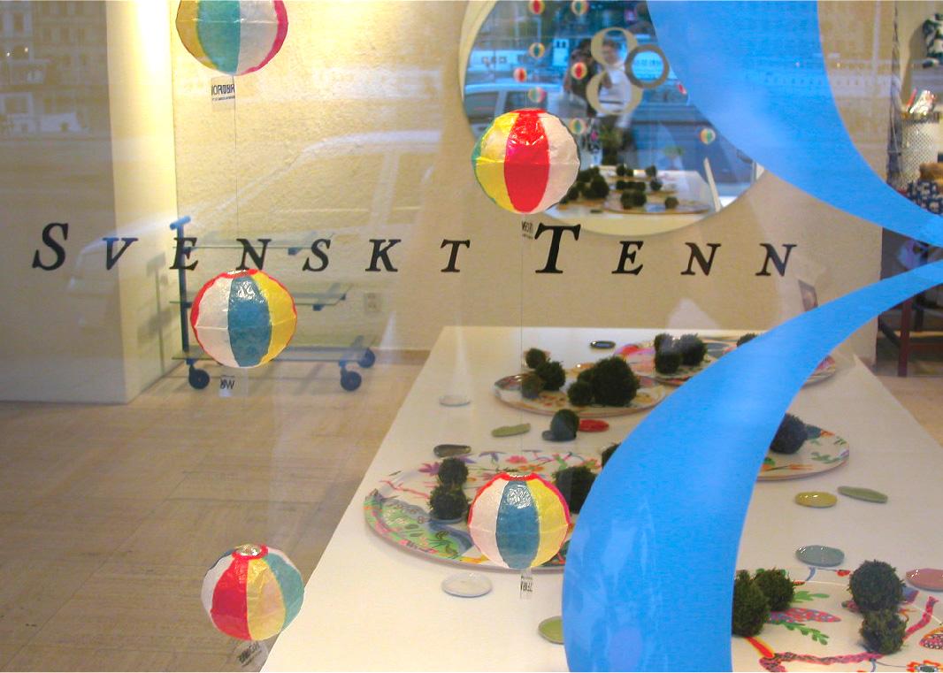 Display at スヴェンスクテン / ストックホルム